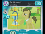 Dr. Hooves, Unblinking