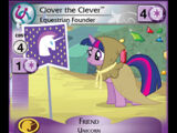 Clover the Clever, Equestrian Founder