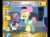 Fluttershy, Acceptable Business Attire