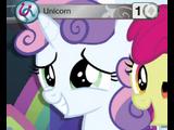 White Unicorn Token (Marks in Time Promo)