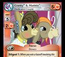 Cranky & Matilda, Dedicated Couple
