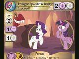 Twilight Sparkle & Rarity, Exposed!