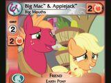 Big Mac & Applejack, Big Mouths