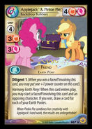 Applejack & Pinkie Pie, Backdrop Builders