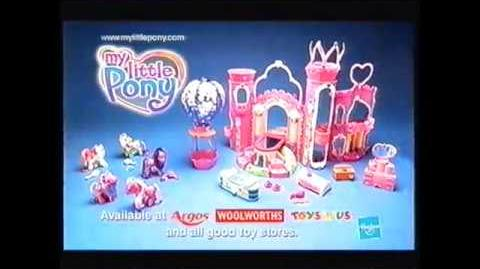 2003 My Little Pony Celebration Castle TV Commercial