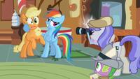 Rainbow Dash Picture With AJ S2E08