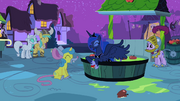 S2E04 Luna and ponies laughing