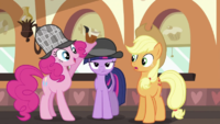Twilight becoming Pinkie's lowly assistant S2E24