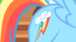 250px-Rainbow Dash shows her cutie mark S01E23