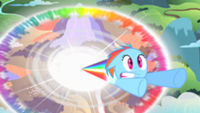 200px-Filly Rainbow Dash sonic rainboom S1E23