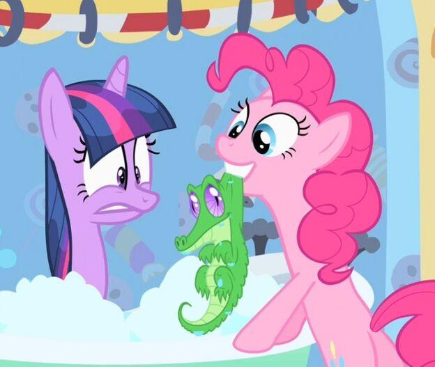 Twilight fa il bagno con Gummy