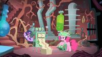 Pinkie fa il test
