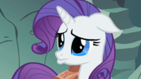 Rarity vewy sad