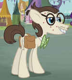 Stallion with robot cutie mark s02e19