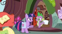 Twilight and spike S03 E12