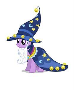 Promotional Facebook Halloween 2011 Twilight Star Swirl