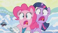 Pinkie e Twilight pattini