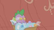 Spike dormido