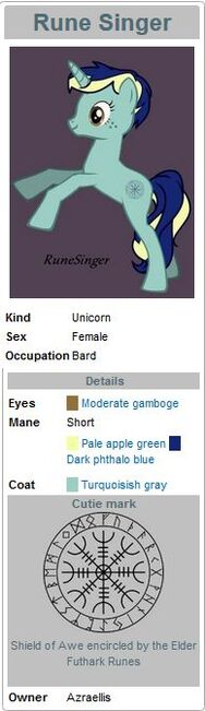 RuneSinger infobox