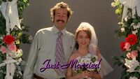 Earl J. Hickey & Billie Cunningham Happily Married