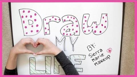 Draw My Life Tag Sierra Furtado