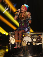 X factor divas night beatrice p
