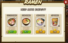 Buy ramen