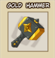 Hammer gold