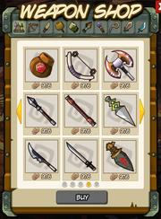 WeaponsInShop