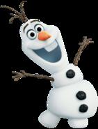 Olaf transparent pose