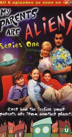 My Parents are Aliens Series 1 VHS Box low quality