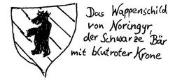 Noringyr-Schild