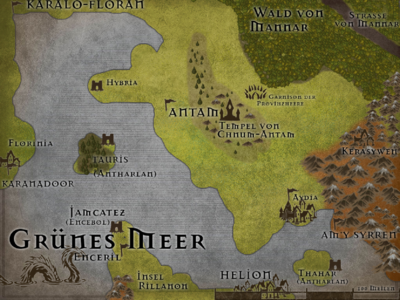 Antam-Karte