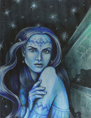 Starlight fairy by fink art-CCBYNCSA