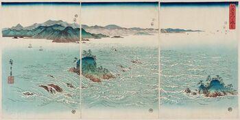 Utagawa Hiroshige (1857) Strudelsee