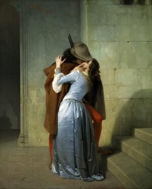 FrancescoHayez-the kiss