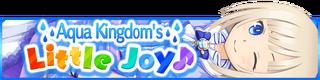 Aqua Kingdom's Little Joy banner