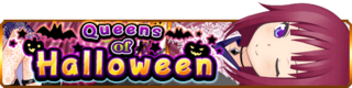 Queens of Halloween banner
