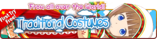Traditional Costumes Gacha Banner