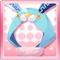 Falling Star Bunny Blue