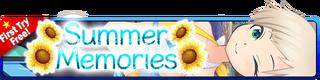 Summer Memories Gacha banner