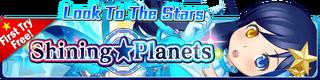 Shining Planets Gacha banner