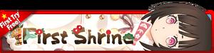 First Shrine Gacha banner