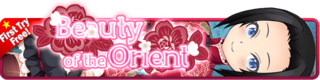 Beauty of the Orient Gacha banner