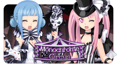 Monochrome Circus Gacha Top