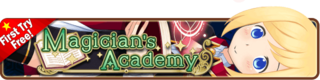 Magician's Academy banner