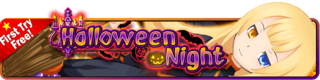 Halloween Night Gacha banner