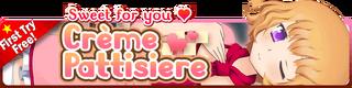 Crème Pattisiere Gacha Banner