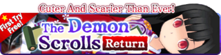 The Demon Scrolls Return Gacha Banner