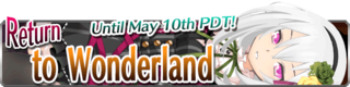 Return to Wonderland banner